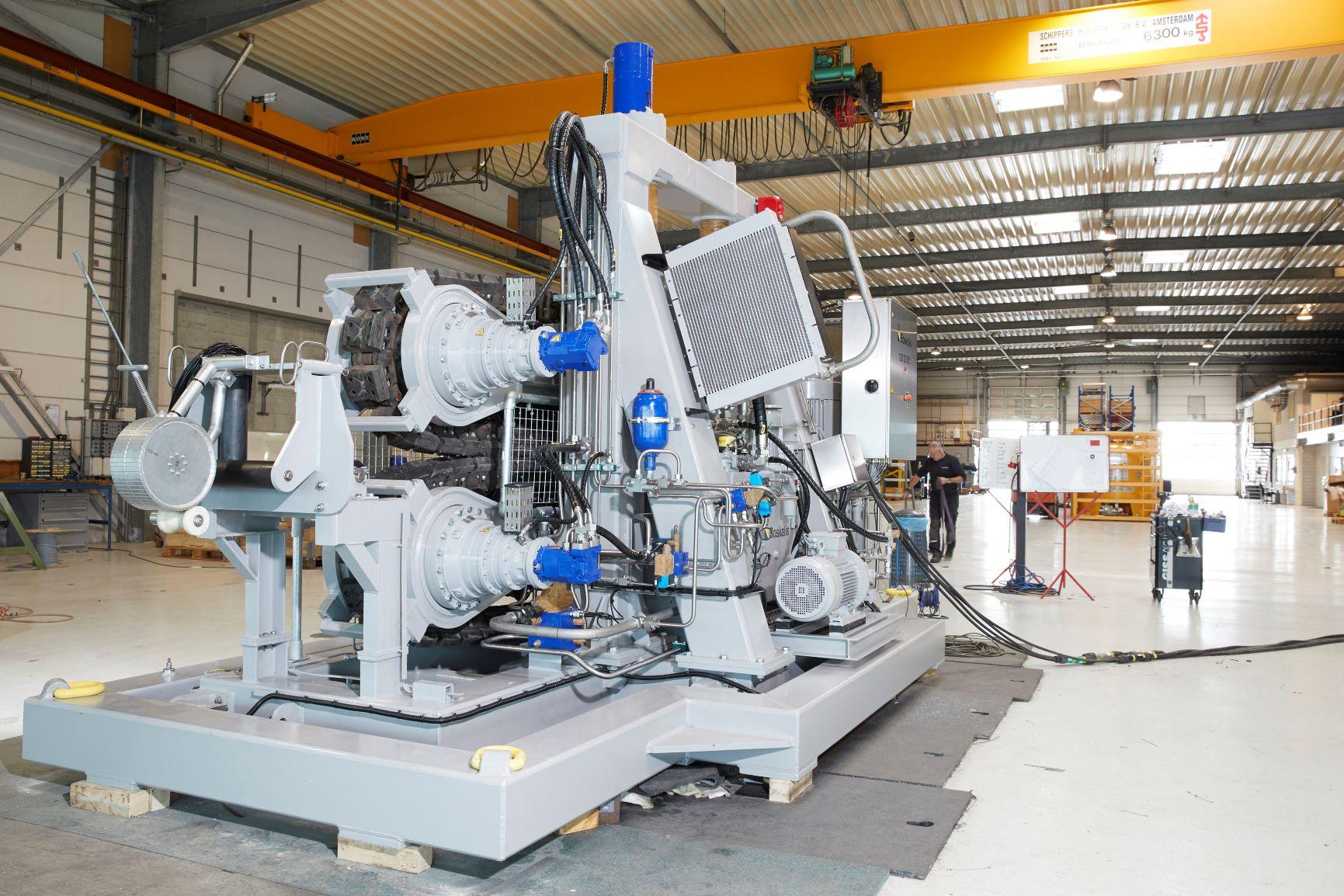 Overhauled 10T tensioner by Doedijns
